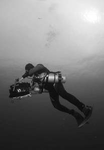 Unterwasser Kameramann Bluewaterfascination taucht sidemount