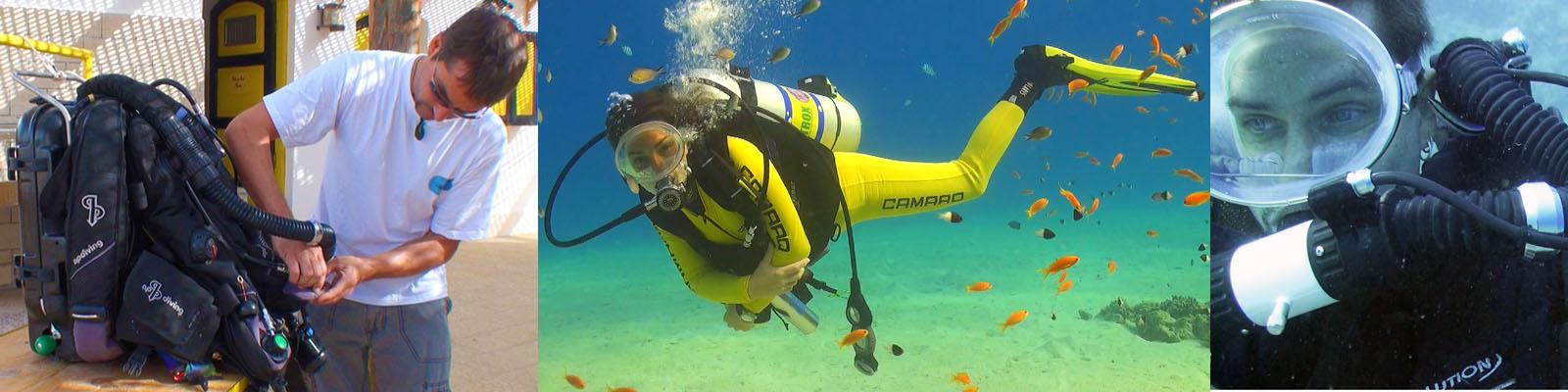 Unterwasser Kameramnn bluewaterfascination mit Unterwasser Modell